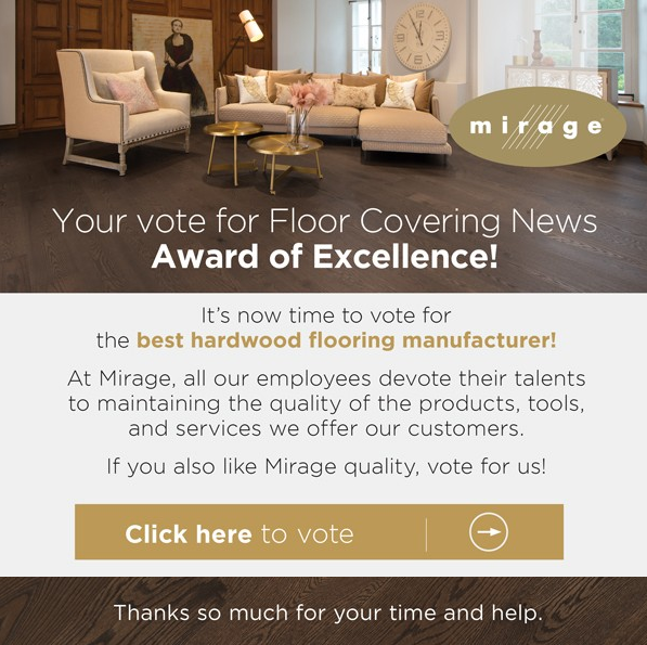 Mirage - Your vote for Floor Covering News Award of Excellence ...